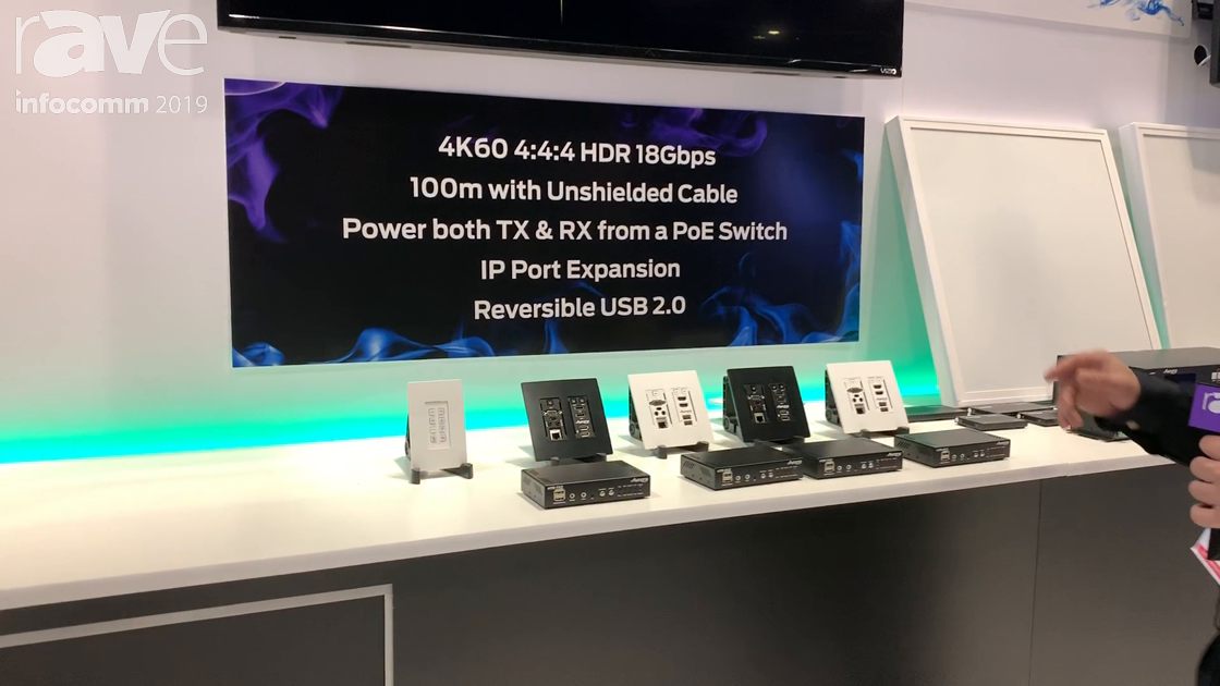 InfoComm 2019: Aurora Multimedia Ships HT Series, Sends 4K@60Hz 4:4:4 Over 100m Unshielded Cables