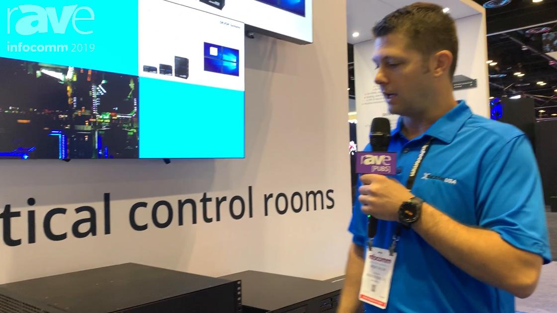 InfoComm 2019: DEXON Systems Features the DIMAX3232 32×32 Intelligent Modular Matrix
