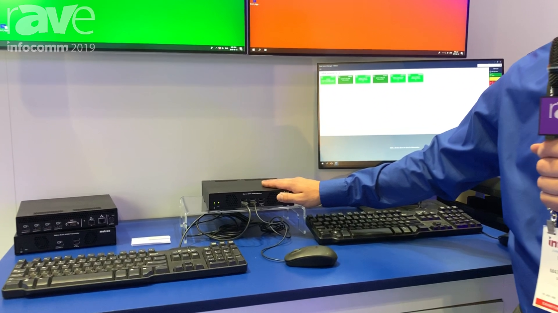 InfoComm 2019: Matrox Graphics Introduces Aggregator Mode for Extio 3 IP KVM Extender