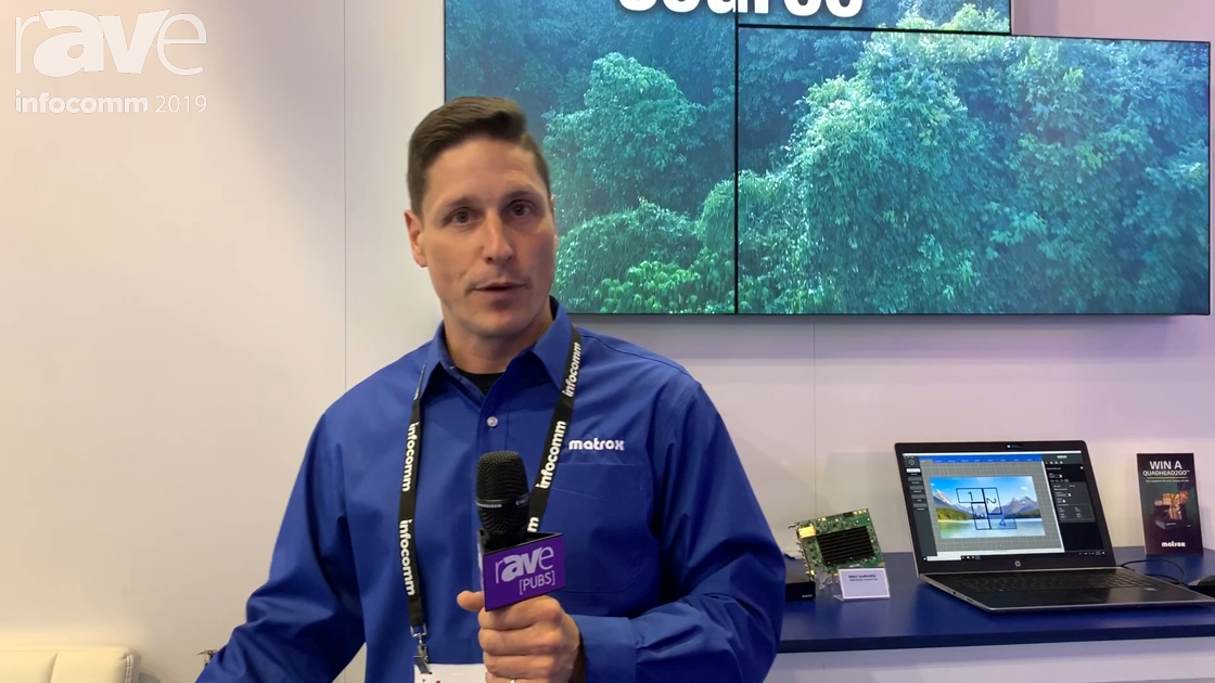 InfoComm 2019: Matrox Graphics, Member of the AIMS Alliance, Talks SMPTE ST 2110 AV-Over-IP Standard