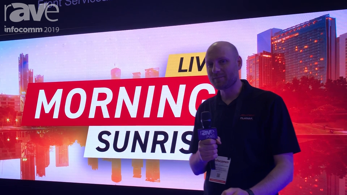 InfoComm 2019: Leyard Planar Features New Front-Accessible TVF 1.2mm LED Wall Display Modules