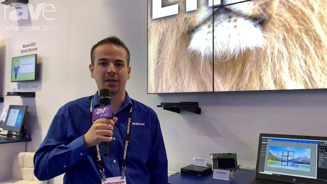 InfoComm 2019: Matrox Graphics' QuadHead2Go Controllers for Artistic and Large-Scale Video Walls