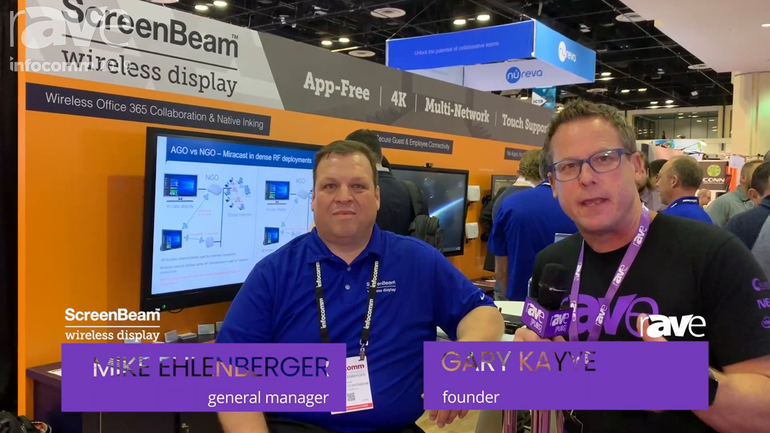 InfoComm 2019: Actiontec ScreenBeam's Mike Ehlenberger Talks App-Free Wireless Presentation Products