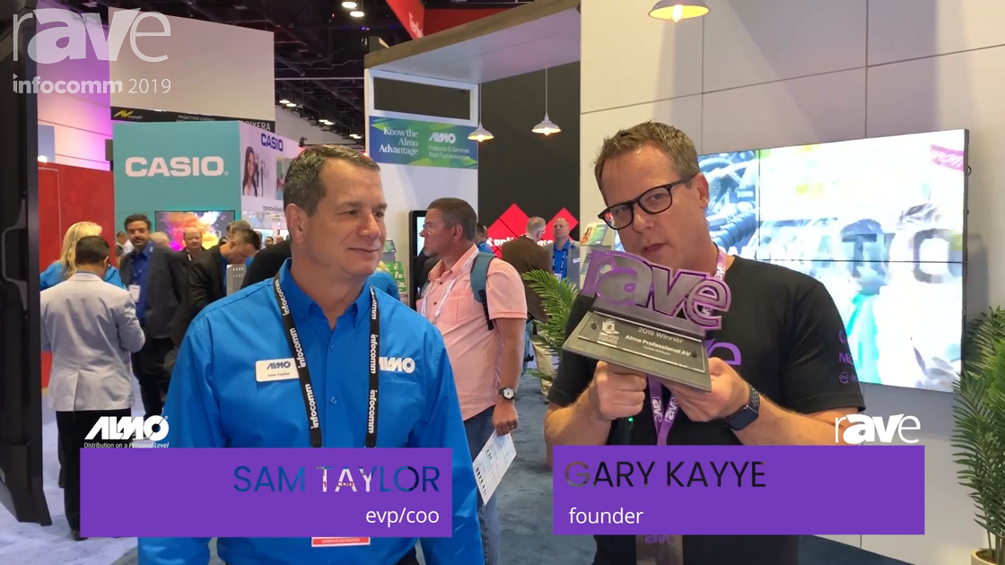 InfoComm 2019: Almo Pro AV Is Presented the rAVe Readers Choice Award for Favorite Distributor