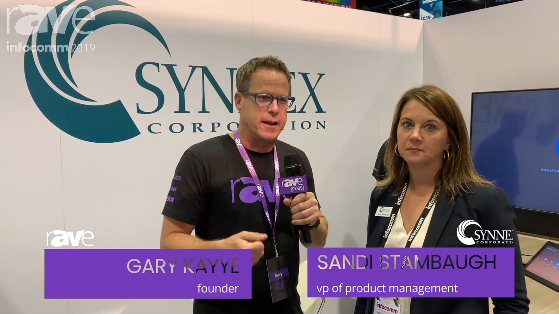 InfoComm 2019: Gary Kayye Takes a SYNNEX Booth Tour with Sandi Stambaugh