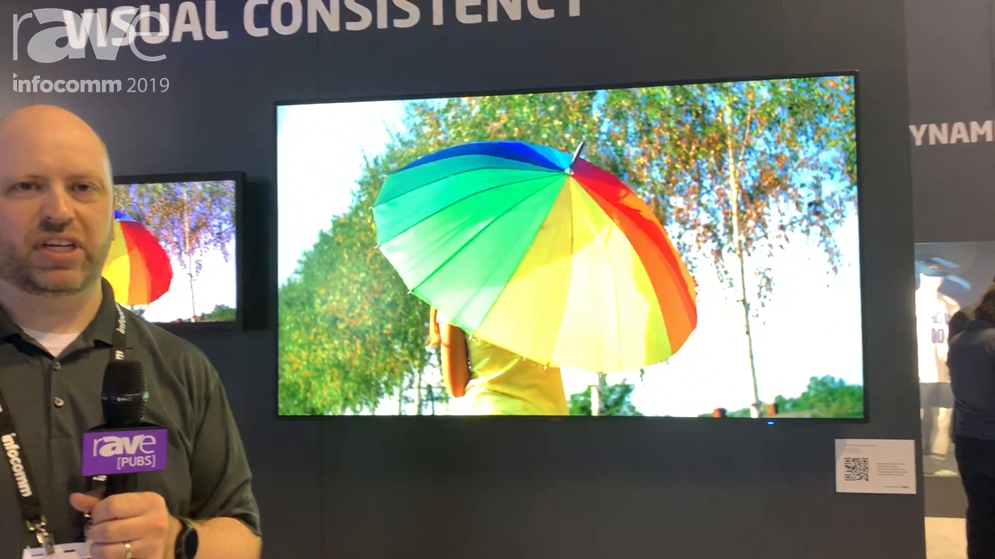 InfoComm 2019: NEC Display Shows Off the Color Accuracy of Its Large Screen Displays