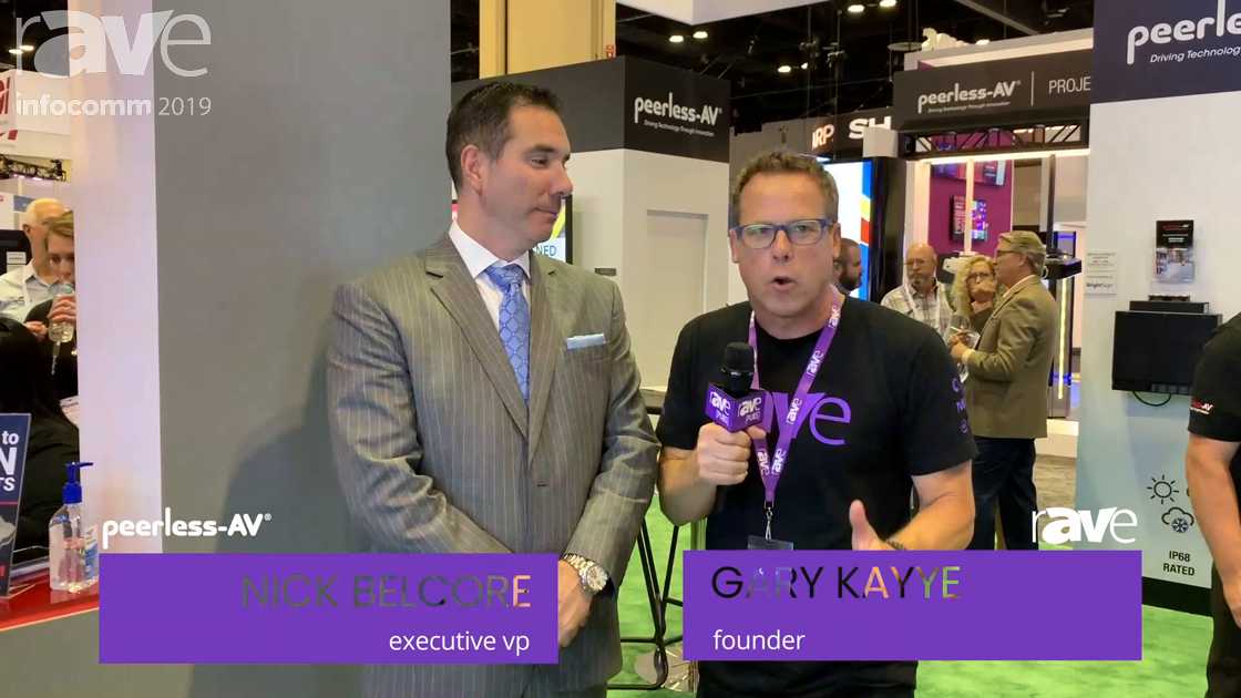 InfoComm 2019: Nick Belcore of Peerless-AV Talks History, Future and Its Transformation