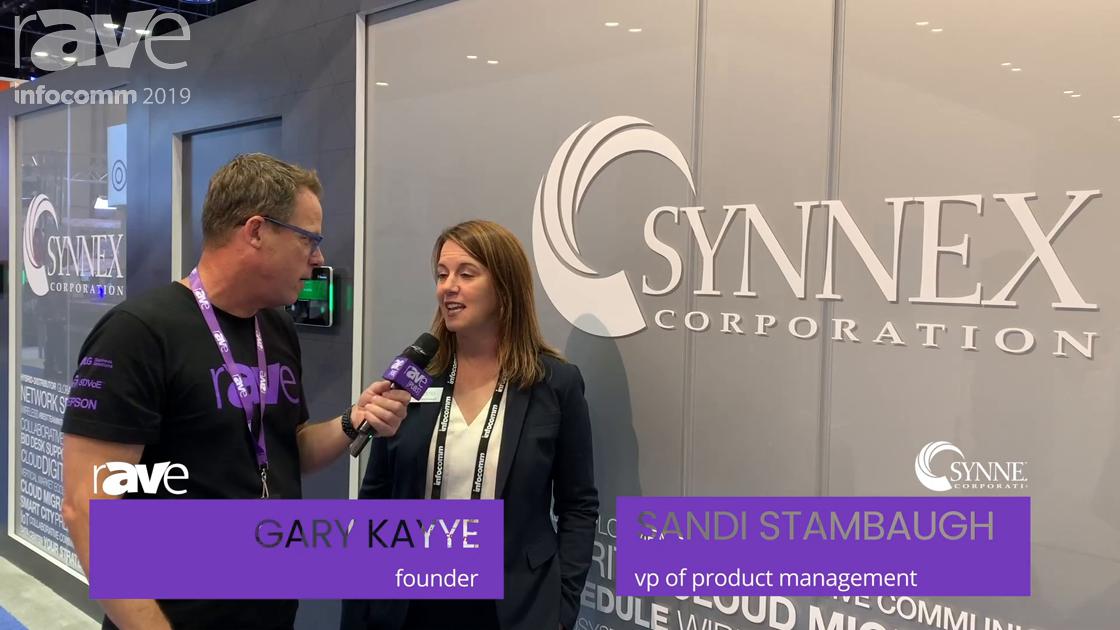 InfoComm 2019: Sandi Stambaugh of SYNNEX Talks to Gary Kayye About VisualSolv