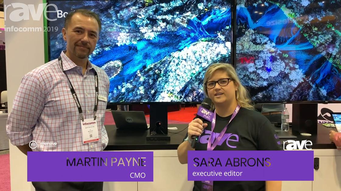InfoComm 2019: Sara Abrons Talks to Mersive's Martin Payne About Solstice 4.0, Gen3 Pod