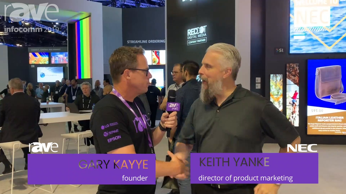 InfoComm 2019: Wish You Could Take an NEC Display Booth Tour With Keith Yanke? You're in Luck