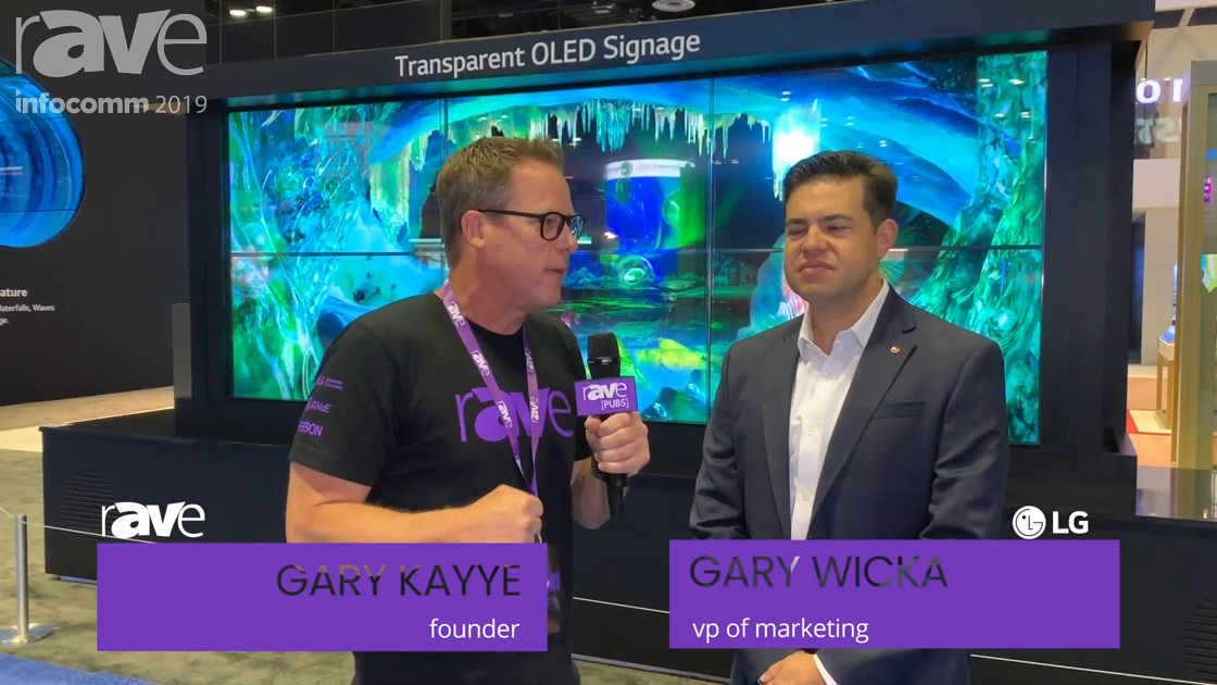 InfoComm 2019: Gary Kayye Gets the ULTIMATE LG Booth Tour from Garry Wicka