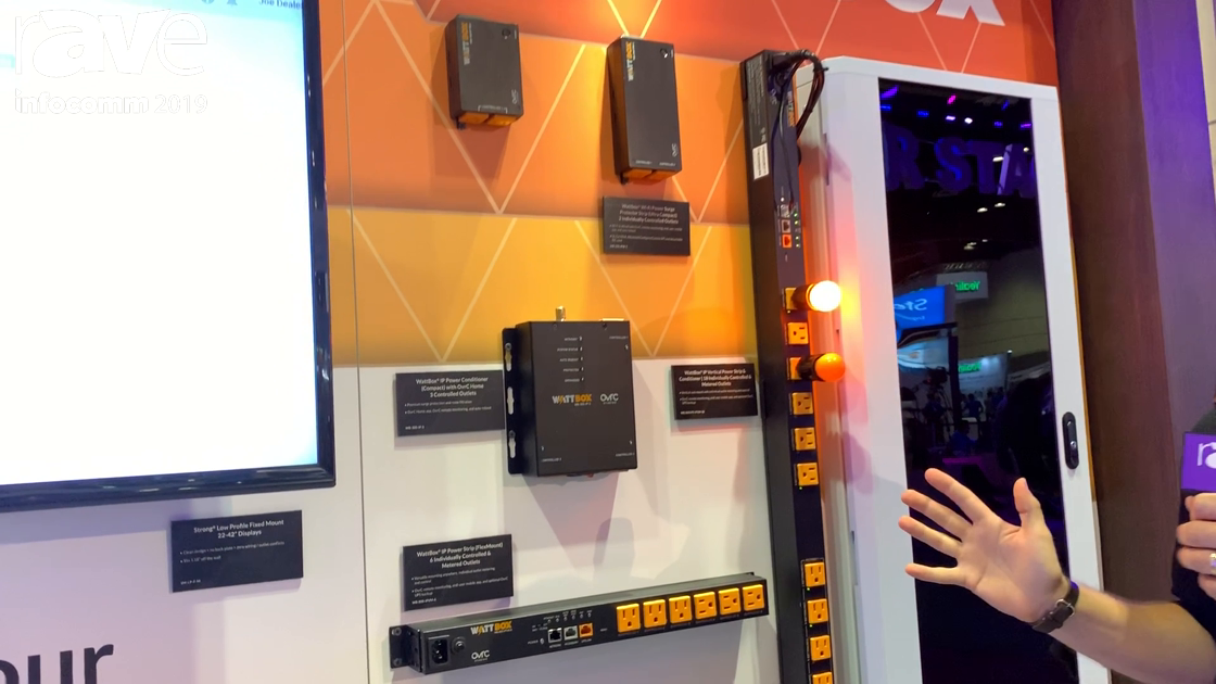 InfoComm 2019: SnapAV Offers WattBox Power Management Products for Custom Installers