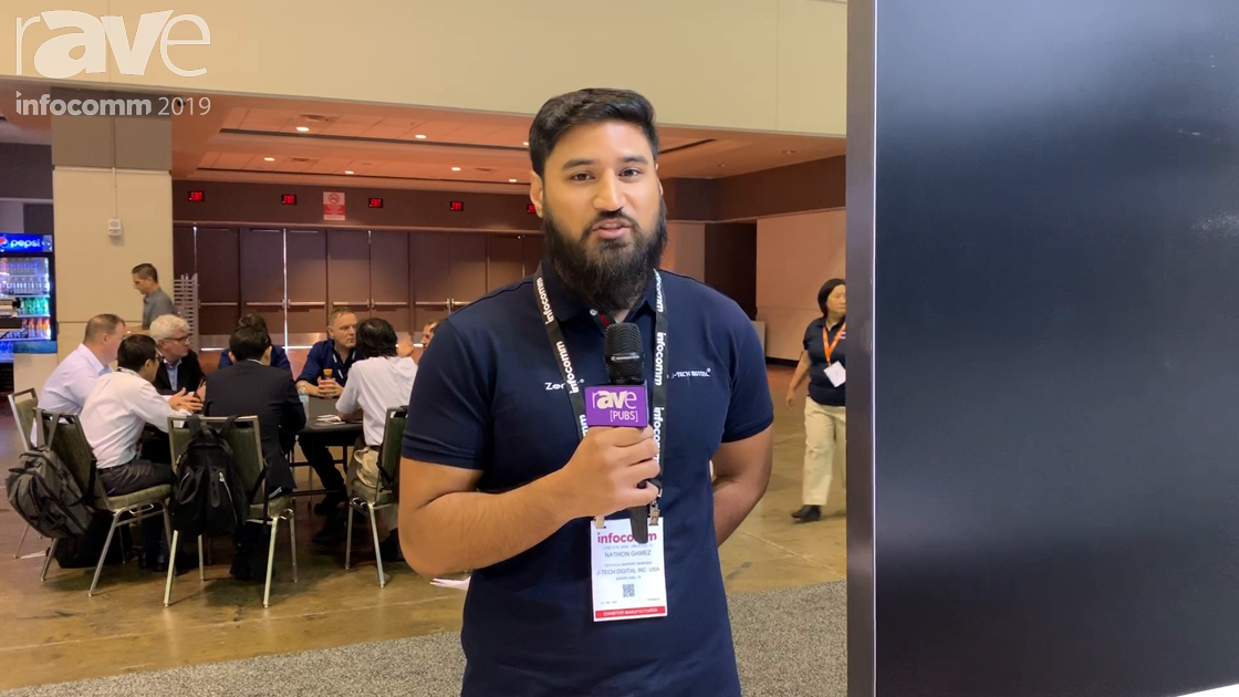 InfoComm 2019: J-Tech Digital Showcases Its Zenty ZT-BY41W Wireless Presentation Switcher