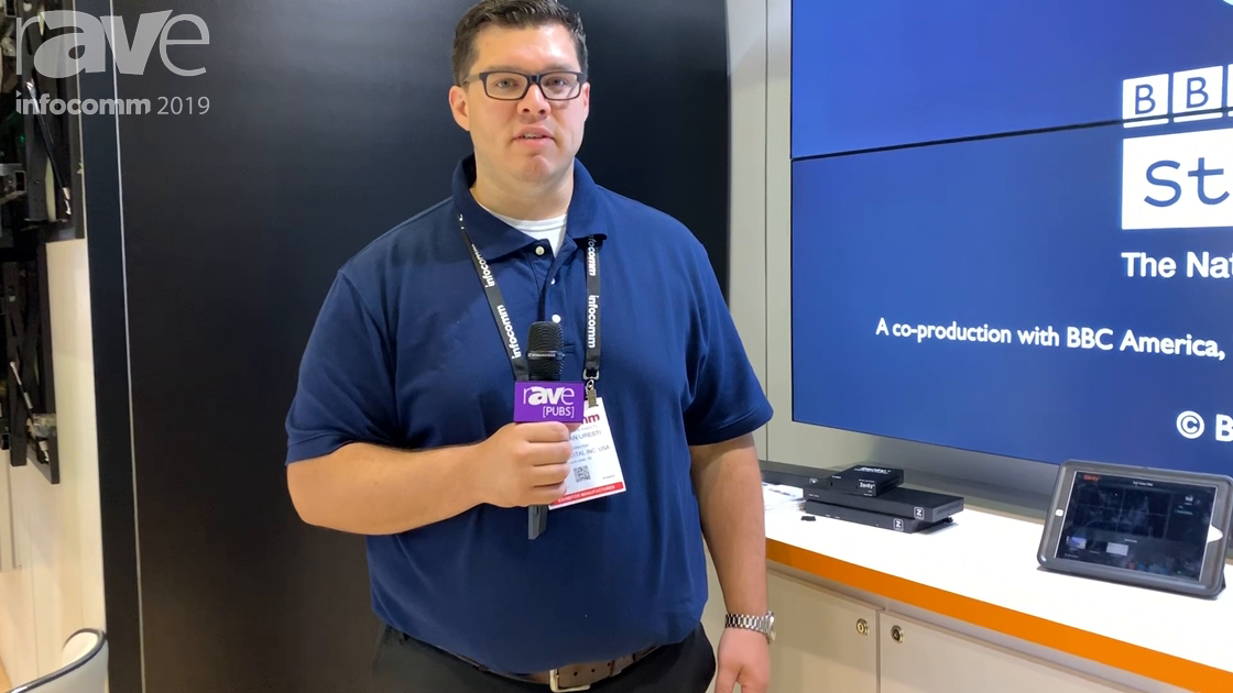 InfoComm 2019: J-Tech Digital Features Zenty ZT-IP300 Z-Net AV-Over-IP Solution Using JPEG2000