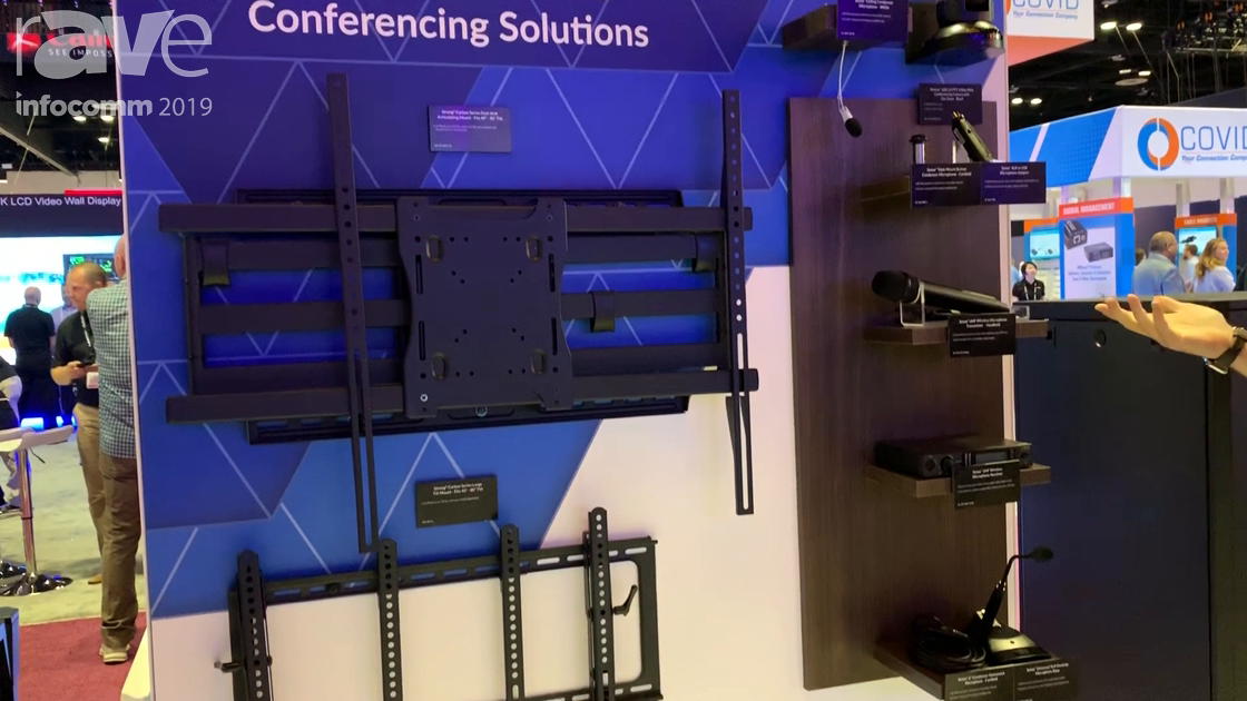 InfoComm 2019: SnapAV Shows Conferencing Solutions Including Nearus USB Camera and Sense Microphones