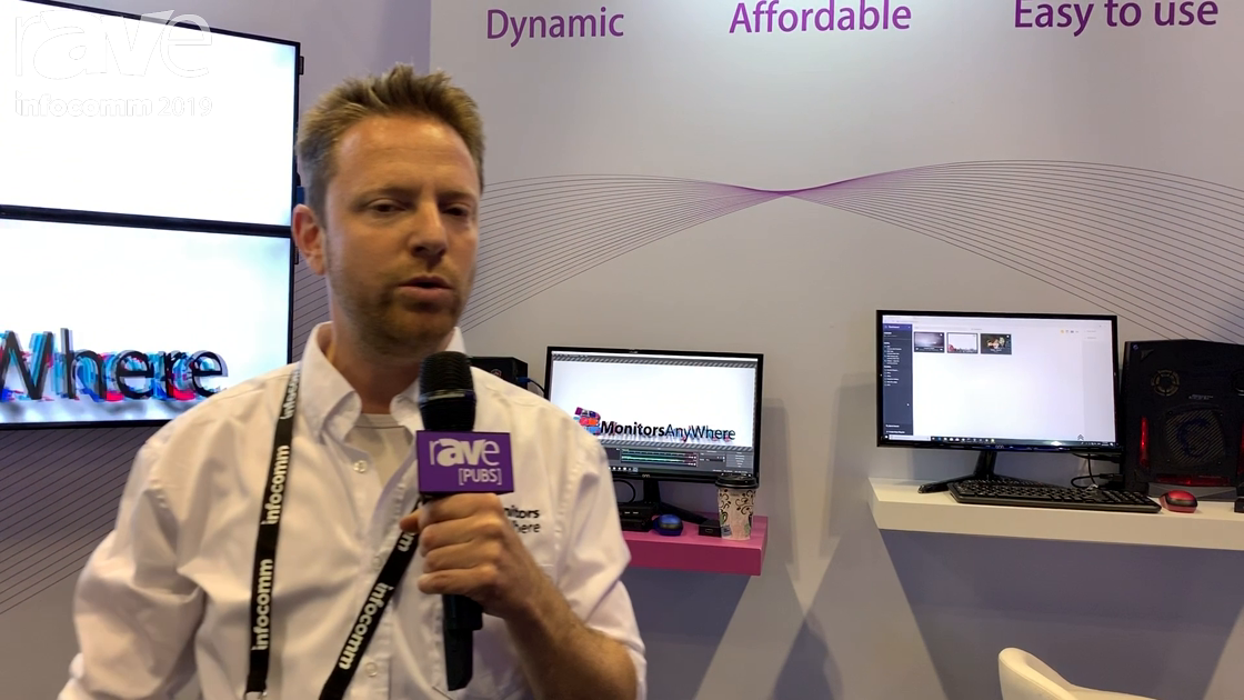 InfoComm 2019: Monitors Anywhere Shows Control Room With Multiple Displays Controlled Via a Browser