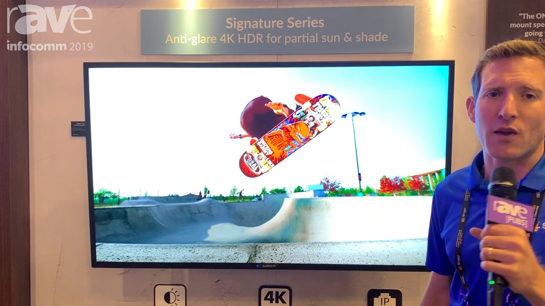 InfoComm 2019: SnapAV Intros the SunBrite Signature Series 2 of Outdoor 4K Displays
