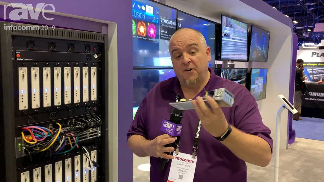 InfoComm 2019: ZeeVee Intros HDMI Zyper4K SDVoE Module to Be Integrated Into Netgear 4300 Switch
