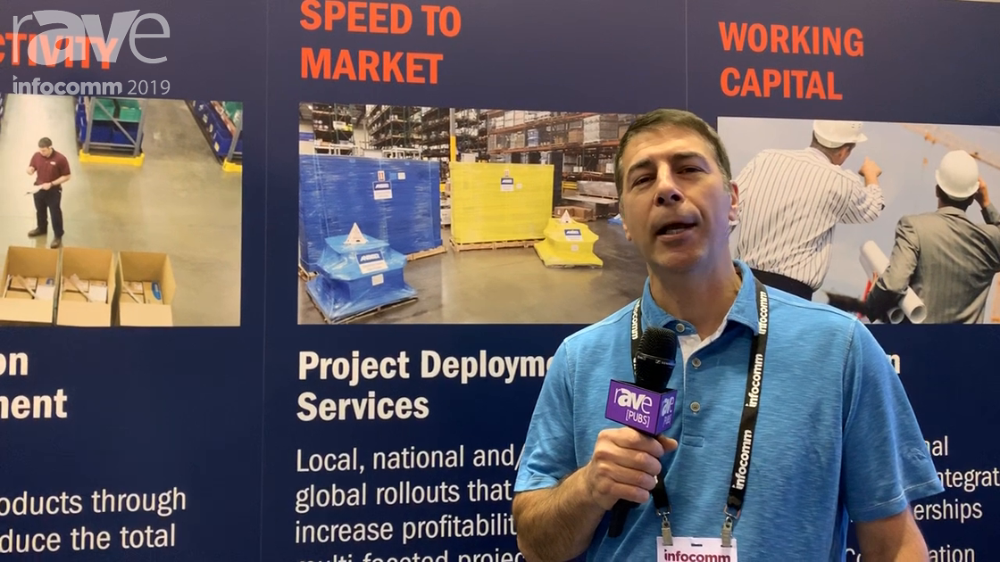 InfoComm 2019: Anixter Offers Services to Help With Speed to Market