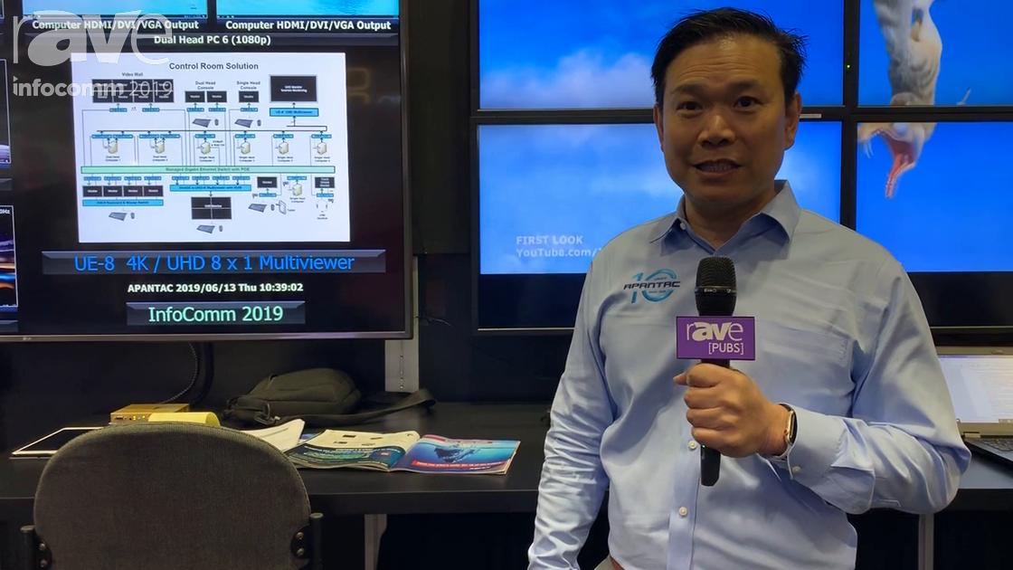 InfoComm 2019: Apantac Demos How Its KVM-Over-IP Solution Works