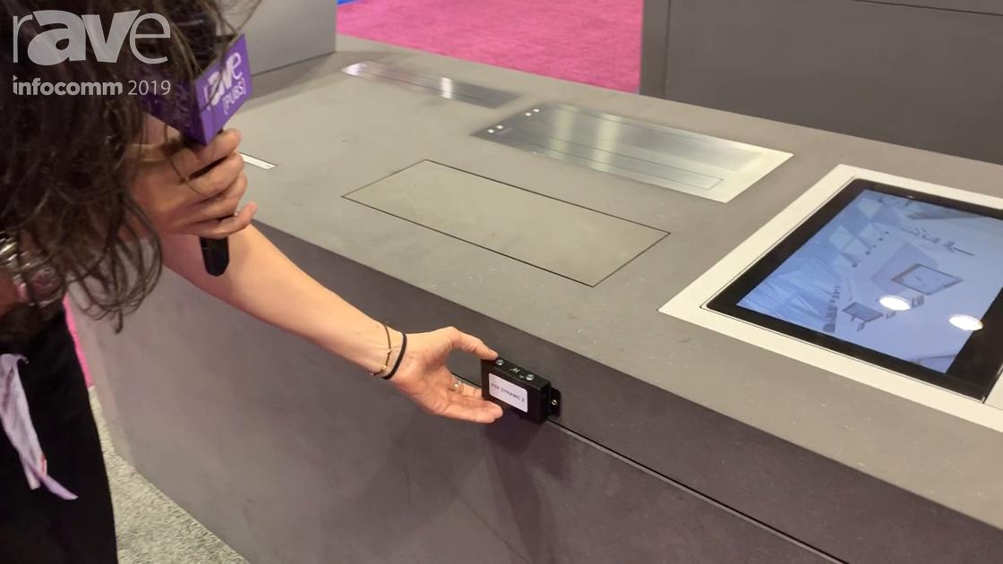 InfoComm 2019: Arthur Holm Shows Off Dynamic X2 KM Retractable Motorized Monitors