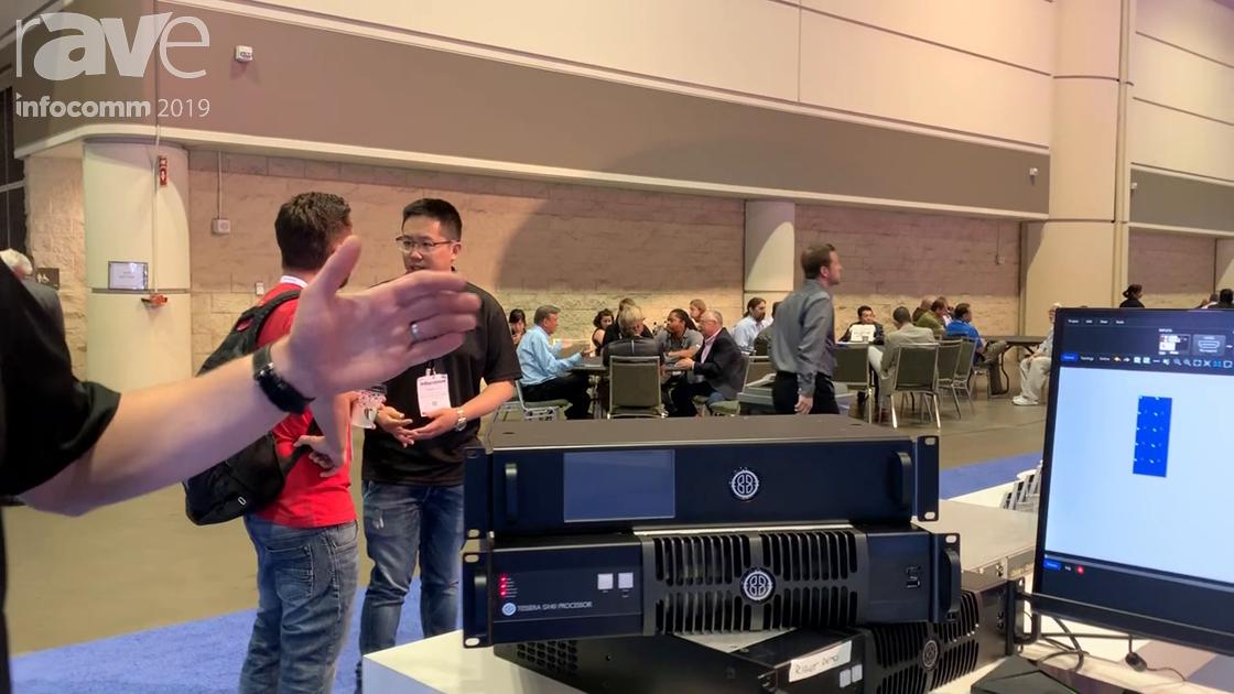InfoComm 2019: Brompton Technology Intros Powerful Tessera SX40 4K Processor With 10G Fiber