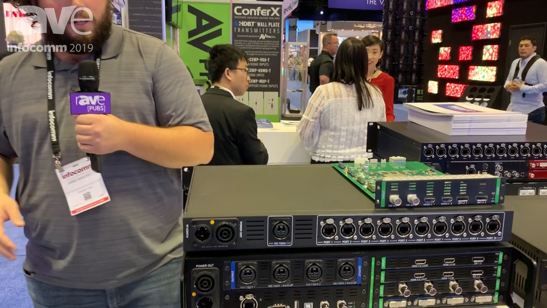 InfoComm 2019: Colorlight Intros the Z6Pro LED Controller With Fiber Outputs