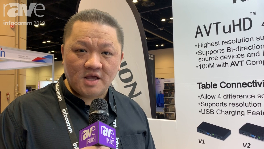 InfoComm 2019: HPC Taiwan Talks About Its HDMI Four-Port Multiview System-M4