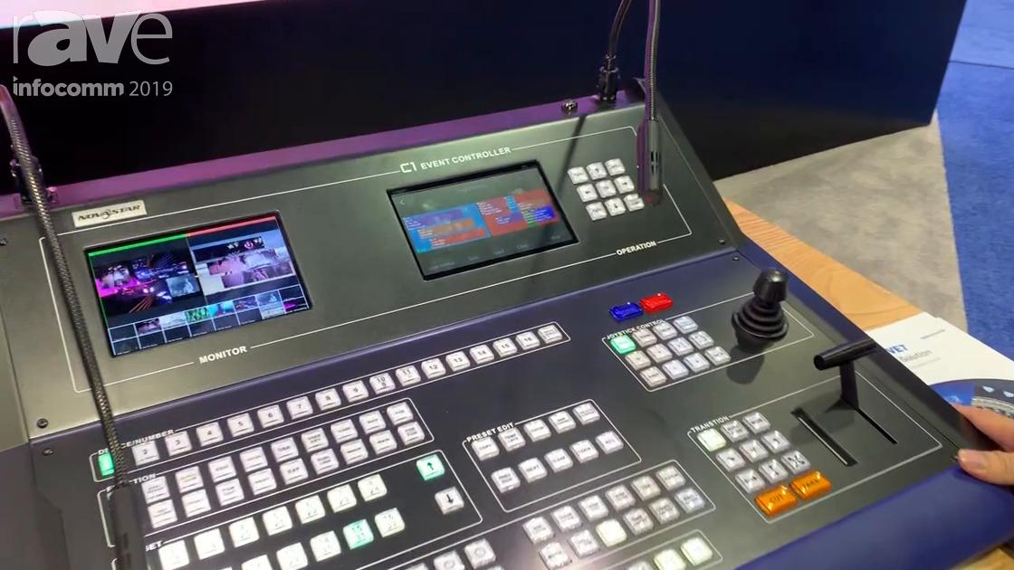 InfoComm 2019: NovaStar Tech Explains C1 Event Controller