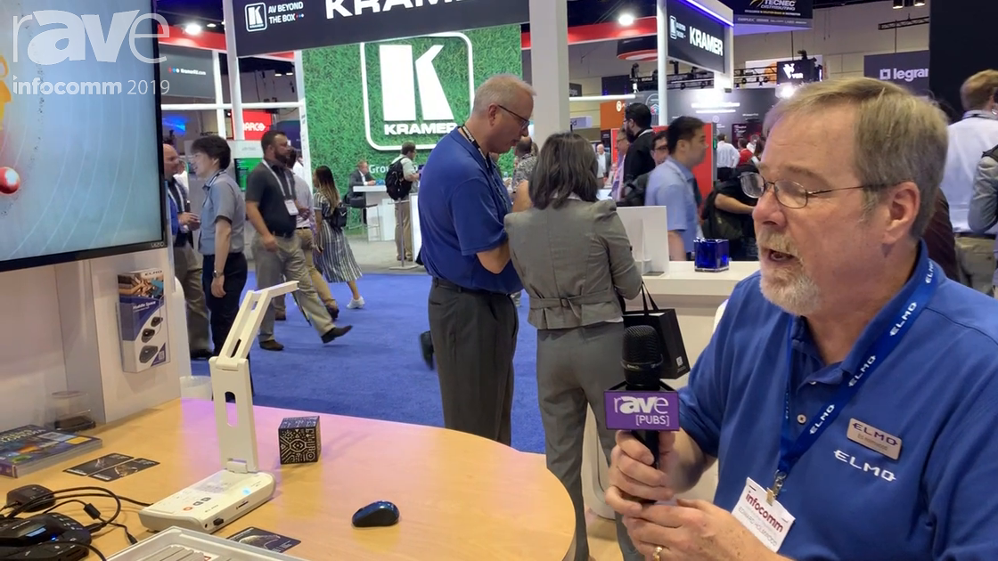 InfoComm 2019: ELMO's MO-2 STEM Cam Has Android With Thid-Party Apps, Can Do 3D Augmented Reality