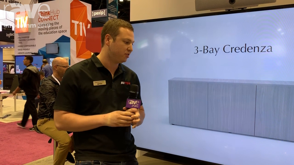 InfoComm 2019: AVTEQ Shows Off Its New Two-Bay Thin Credenza