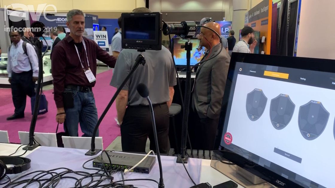 InfoComm 2019: FLEX AV Showcases FM0-19D Boundary Dante Microphones and FM19GD Dante Gooseneck