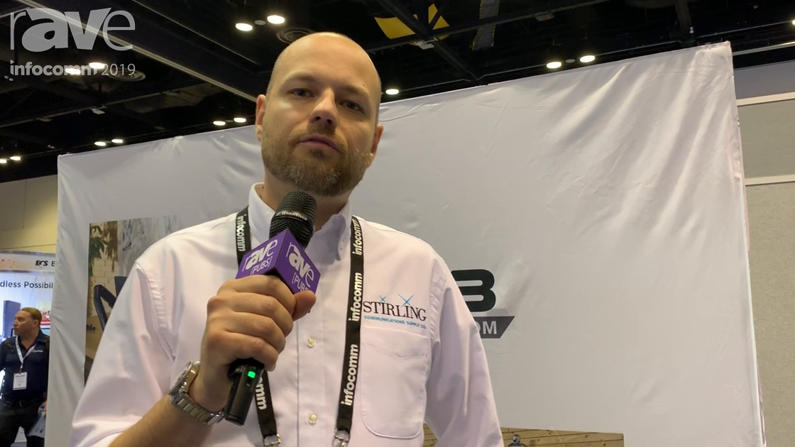 InfoComm 2019: Sterling Communications Shows Off the UL-Rated NB Carts AVA1800-70P Fixed Cart