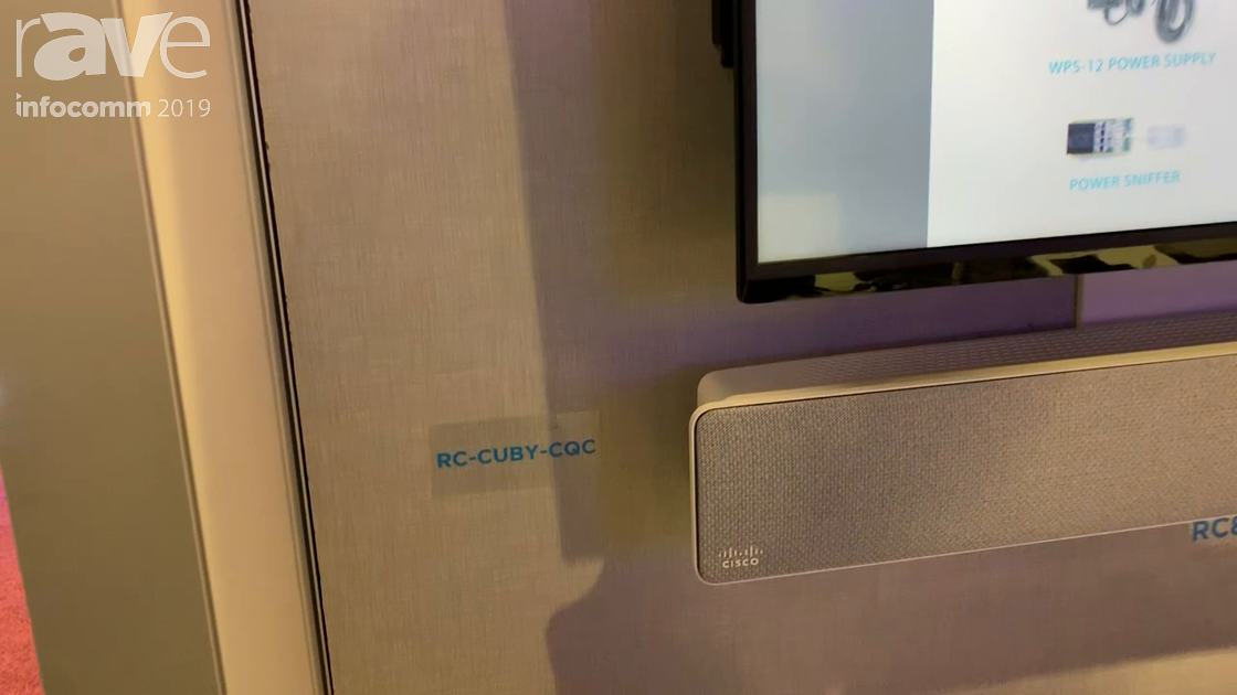 InfoComm 2019: Sound Control Technologies Shows RC-Cuby-CQC Mounting Soltuion for Cisco Quad Cam