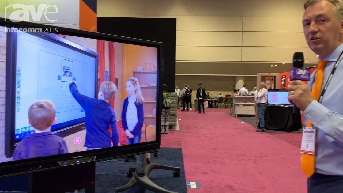 InfoComm 2019: BalanceBox 400 Is Height-Adjustable Solution for Large Interactive Whiteboards