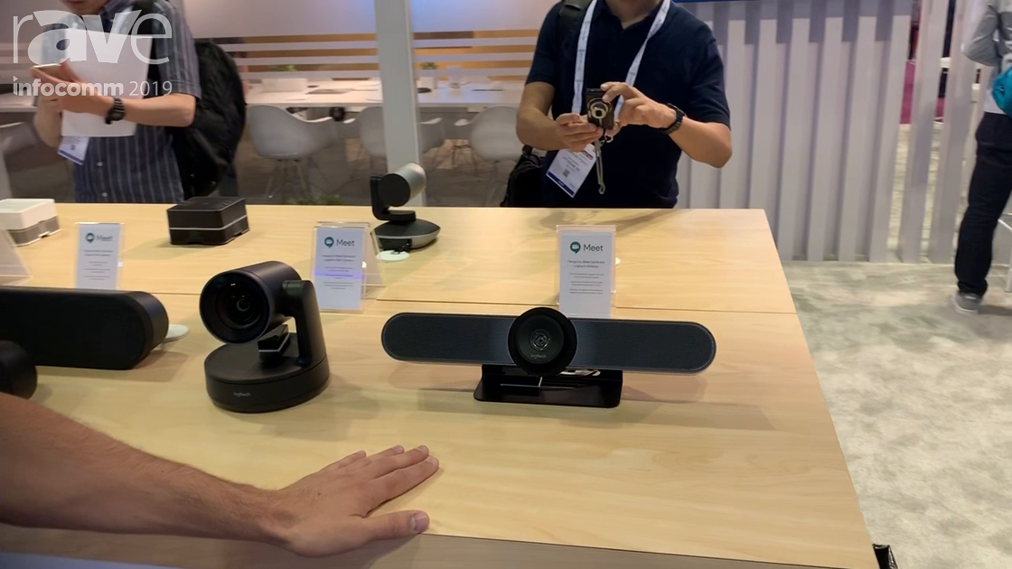 InfoComm 2019: Google Cloud Talks About How It Works With Logitech Meetup & Logitech Rally