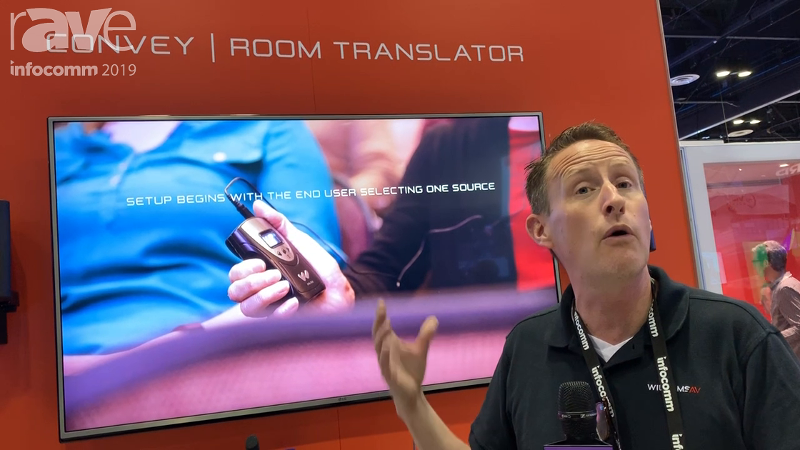 InfoComm 2019: Williams AV Launches Convey Room Translator With Google AI, a 52-Language Matrix