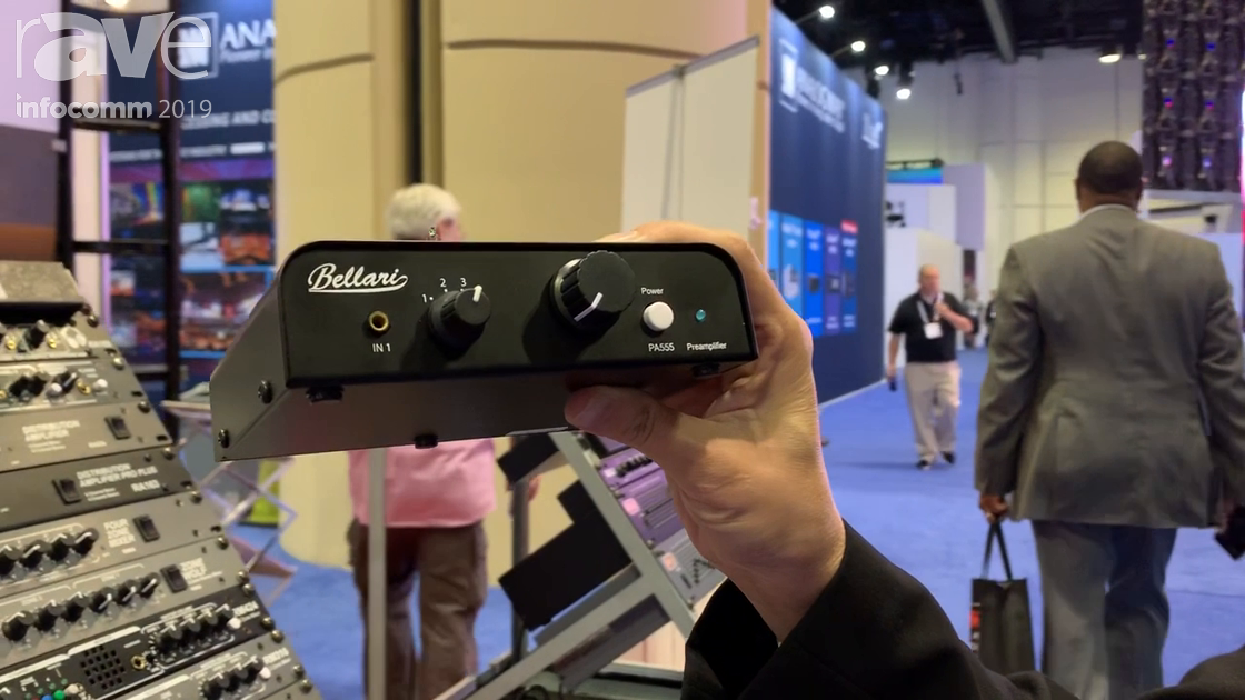 InfoComm 2019: Rolls Corporation Showcases Its Bellari PA555 Tube Preamplifier