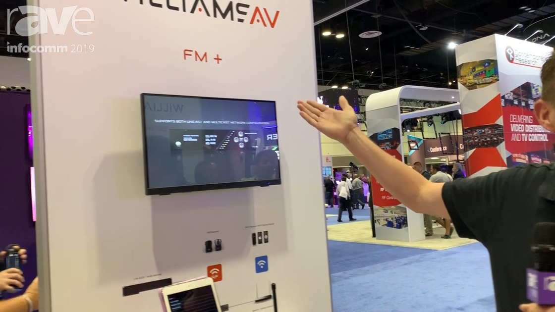 InfoComm 2019: Williams AV Intros FM+ System, a Single Box with Full DSP for Assistive Listening