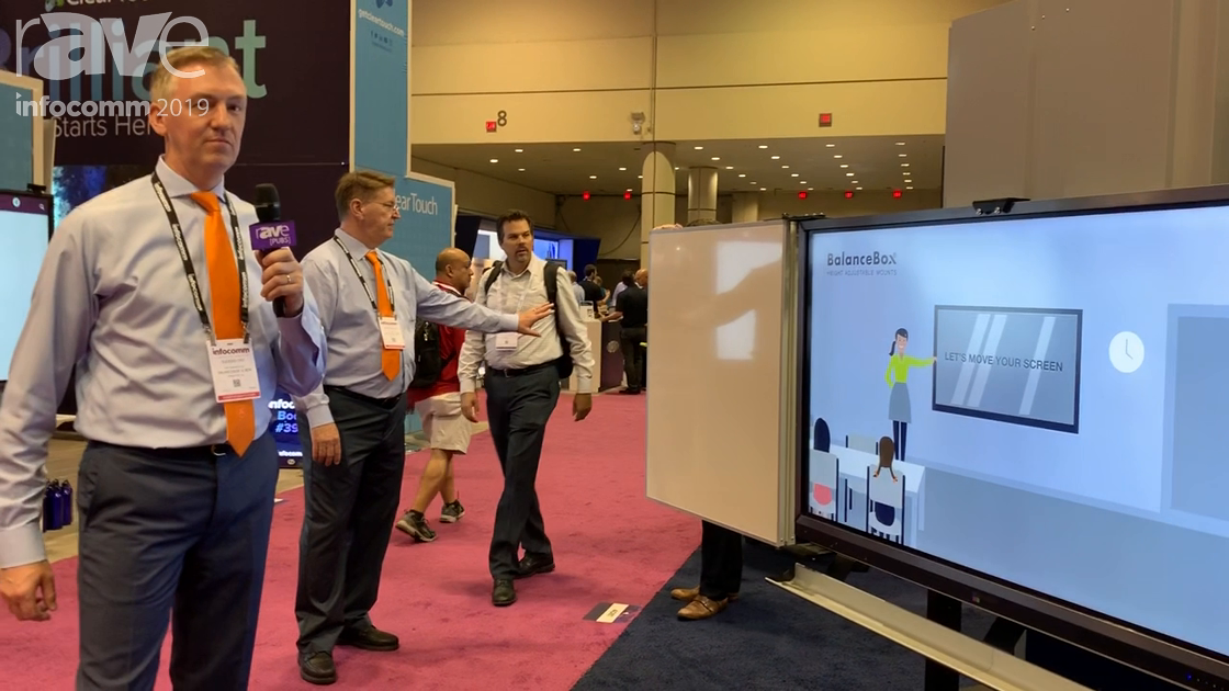InfoComm 2019: BalanceBox Shows 650 Wings, a Height-Adjustable Display Stand With Winged Whiteboards