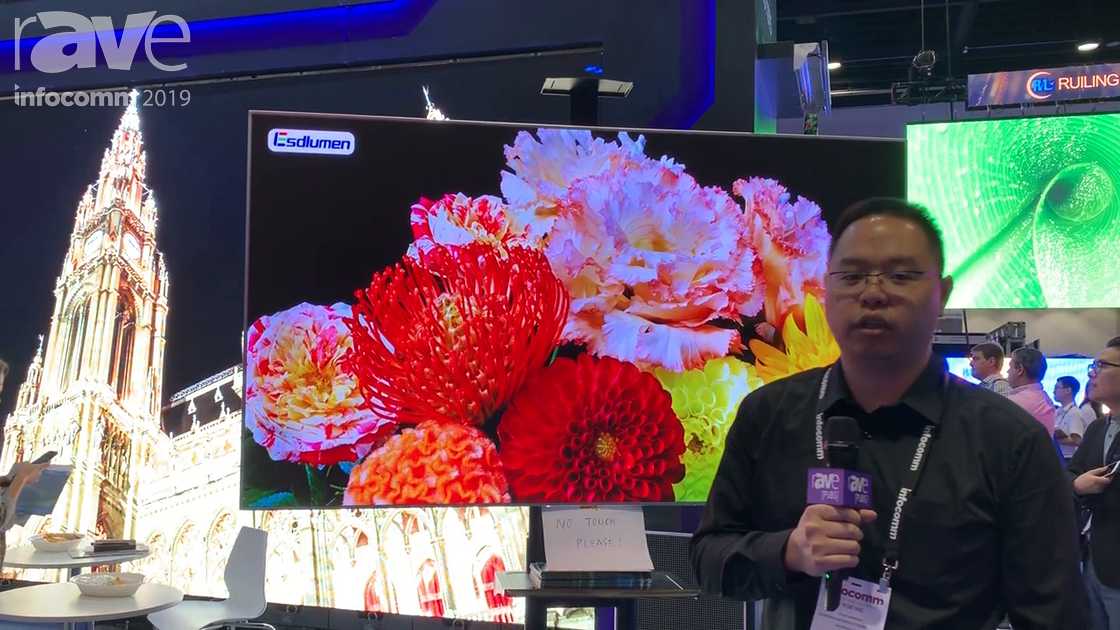 InfoComm 2019: Esdlumen Intros VE-0.9 MiniLED Display With 4-in-1 Technology