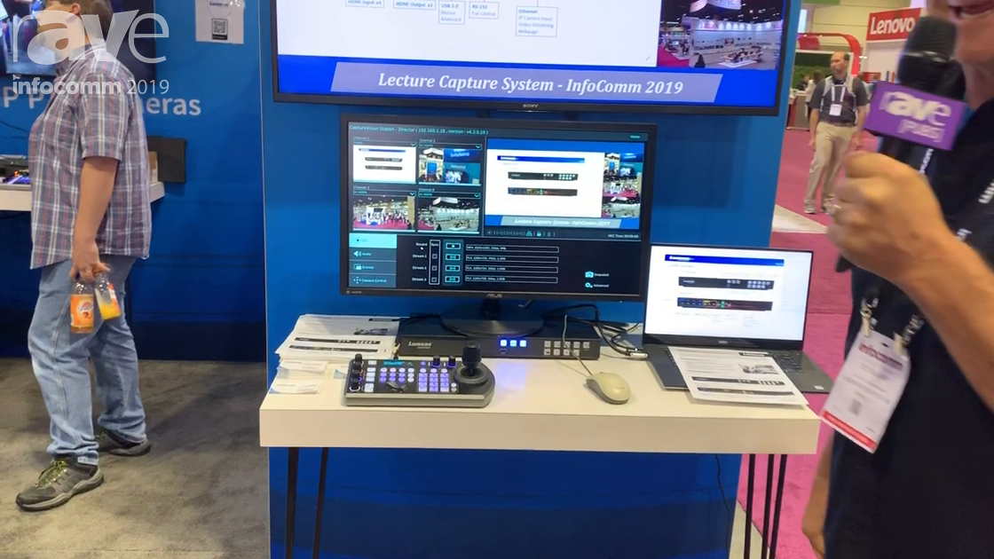 InfoComm 2019: Lumens Integration Features Its LC200 Lecture Capture System