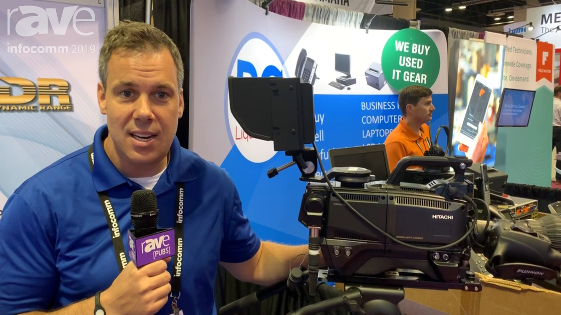 InfoComm 2019: Hitachi Highlights Its SK HD 1800 Production Camera Package