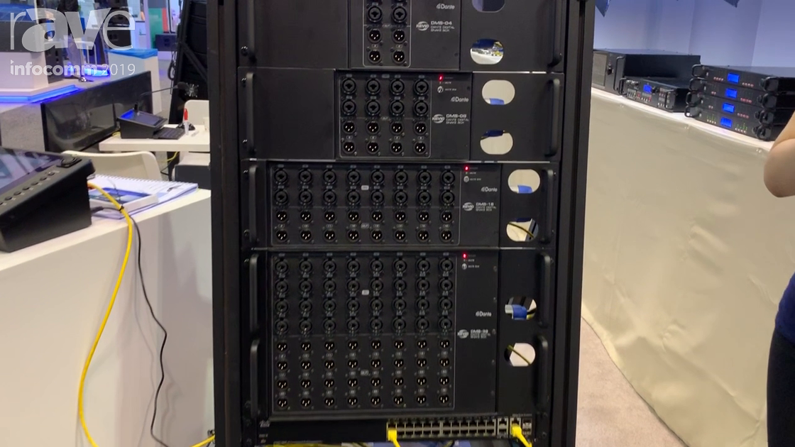 InfoComm 2019: Kevic Dante Showcases Its Dante Digital Snake Box