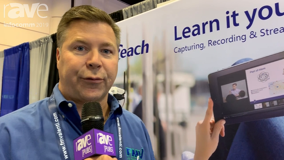 InfoComm 2019: Reach Demos Its yCat Wireless, Portable Recorder With Built-In Production Switch