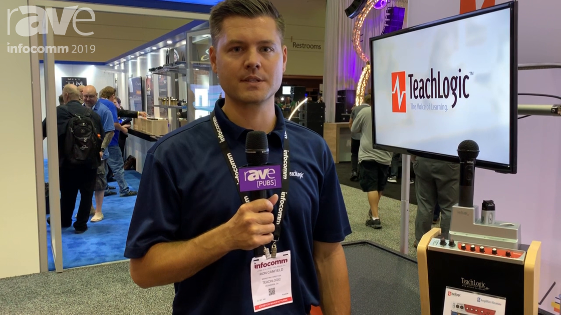 InfoComm 2019: TeachLogic Shows Maxim III Amp, IR Mic Receiver and Audio Mixer Combo