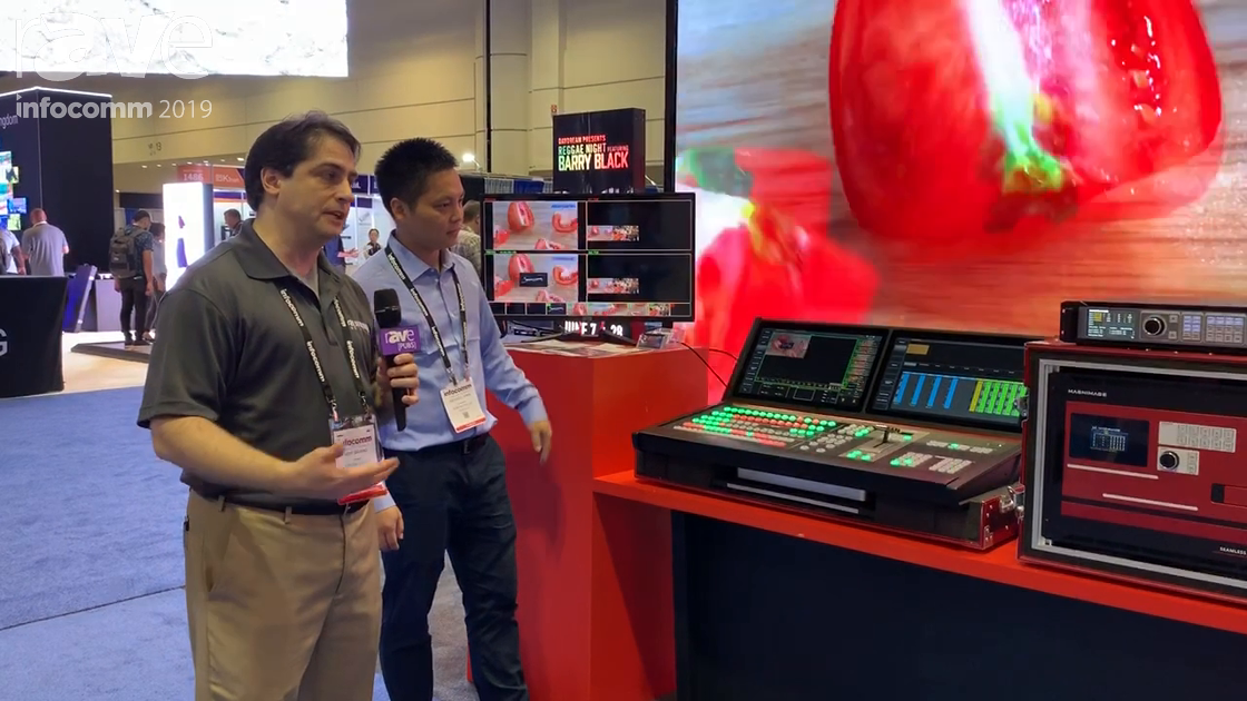 InfoComm 2019: Aurora Showcases Its LED V8 and H8 Console Event Controller