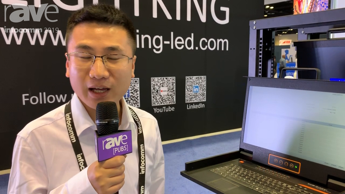 InfoComm 2019: Kinan Exhibits Its Matrix LCD KVM Console