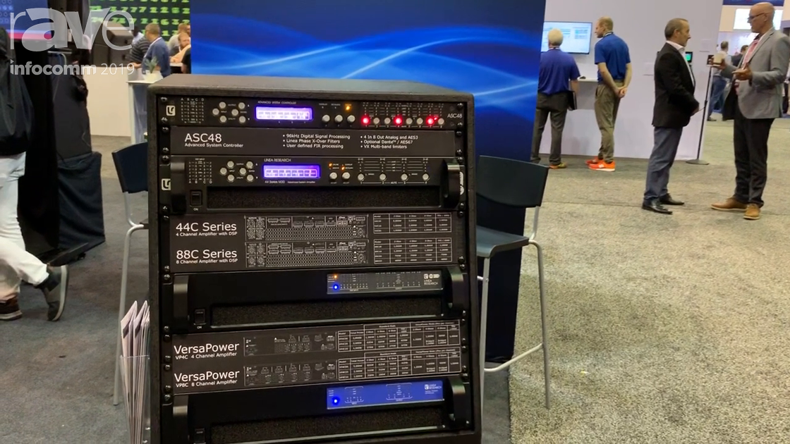 InfoComm 2019: Linea Research Showcases M-Series and C-Series of Network DSP Amplifiers