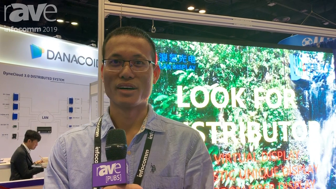 InfoComm 2019: Shenzhen Showcases LAN LED Display